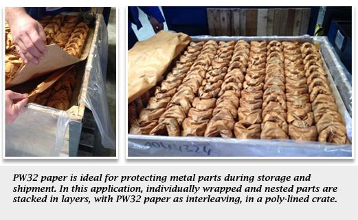 Protek Wrap® VCI Paper PW32_application